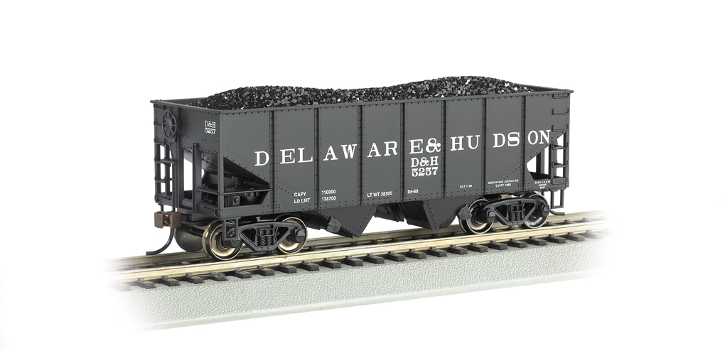 Delaware & Hudson - 55-Ton 2-Bay USRA Outside Braced Hopper