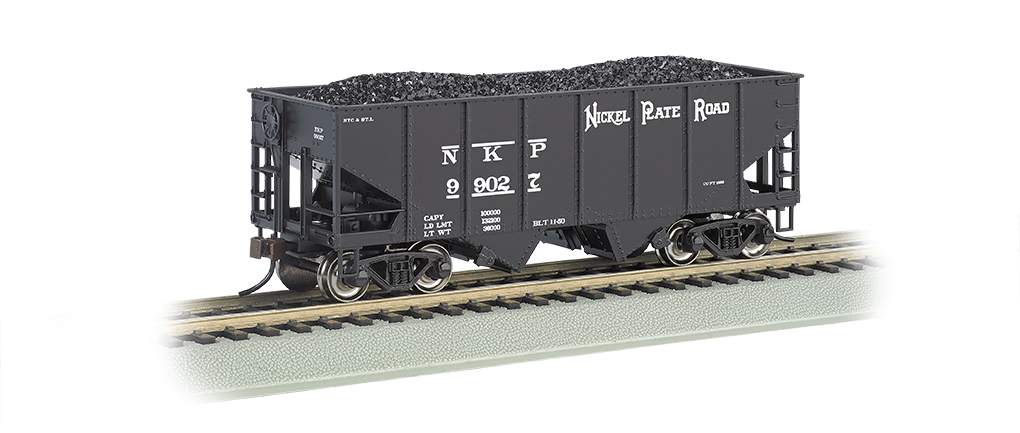 BAC19511 Bachmann Industries HO 55T 2-Bay Hopp NKP 160-19511