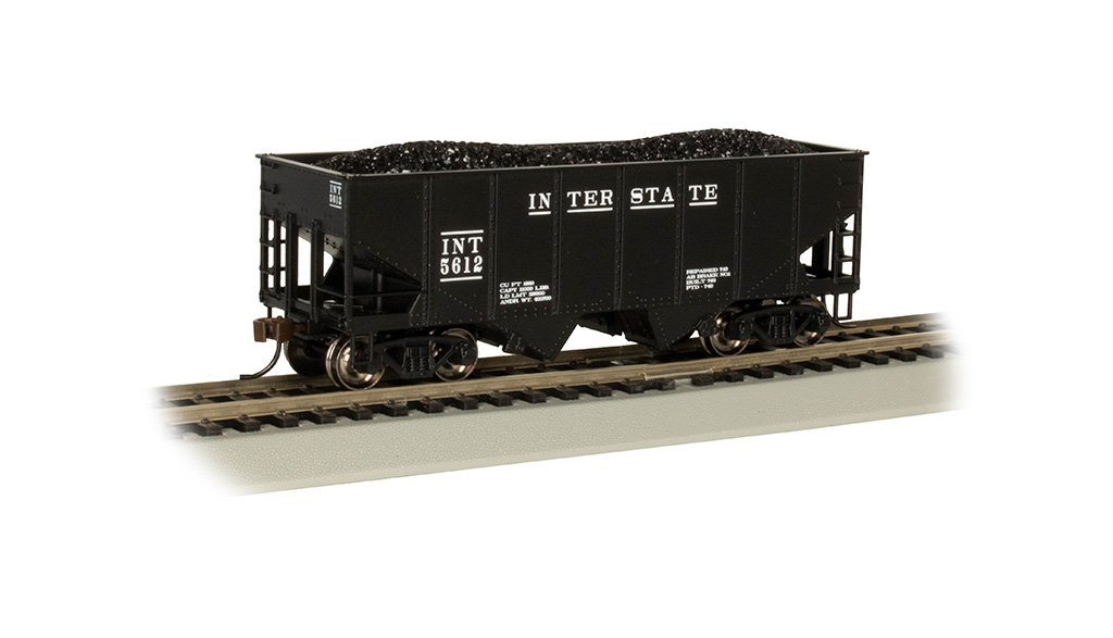 Interstate #5612 - 55-Ton 2-Bay USRA Outside Braced Hopper
