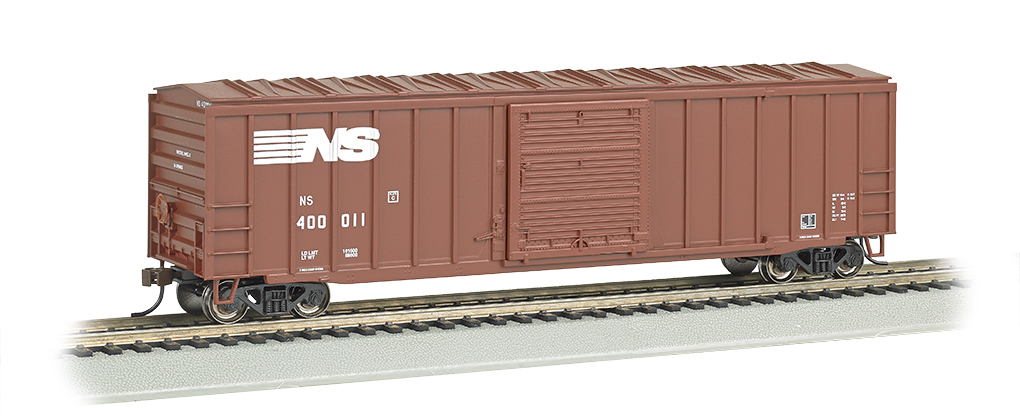 Norfolk Southern - ACF 50.5' Outside Braced Box Car (HO Scale)