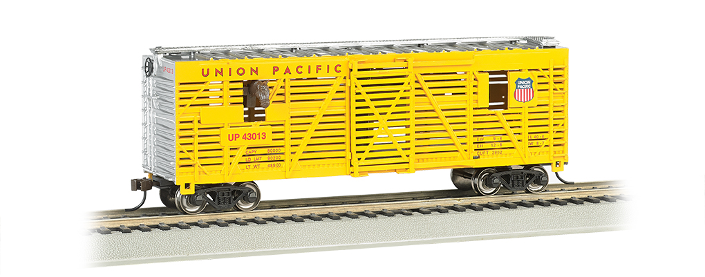 Bachmann 19701 HO Animated Stck Car UP 160-19701 BAC19701