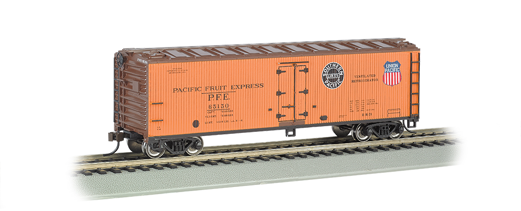 Pacific Fruit Express - 40' Wood-side Refrigerated Box Car