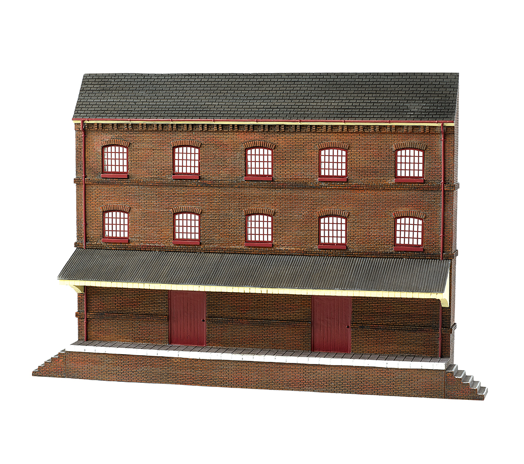 Three Story Warehouse (HO Scale)