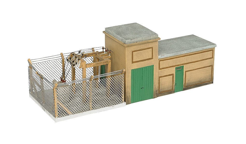 BAC35111 Bachmann Industries HO Electrical Substation Kit 160-35111