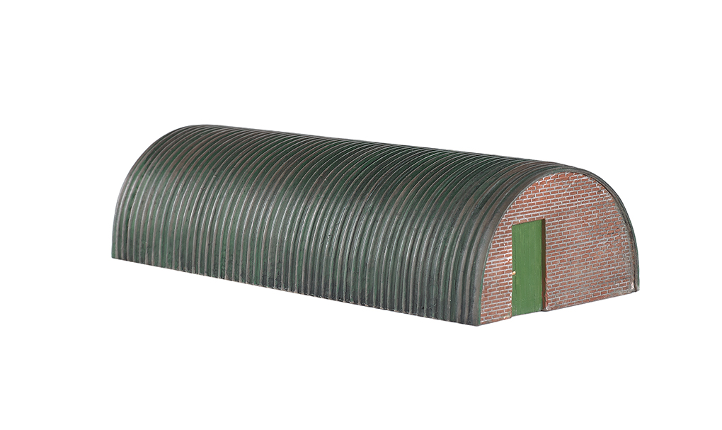 Corrugated Hut (HO Scale)