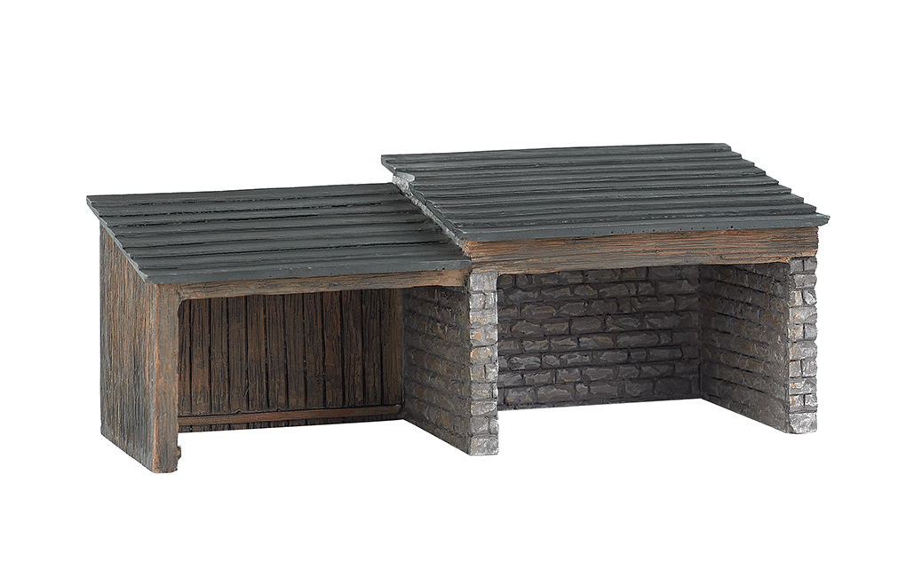 Storage Shed (HO Scale)