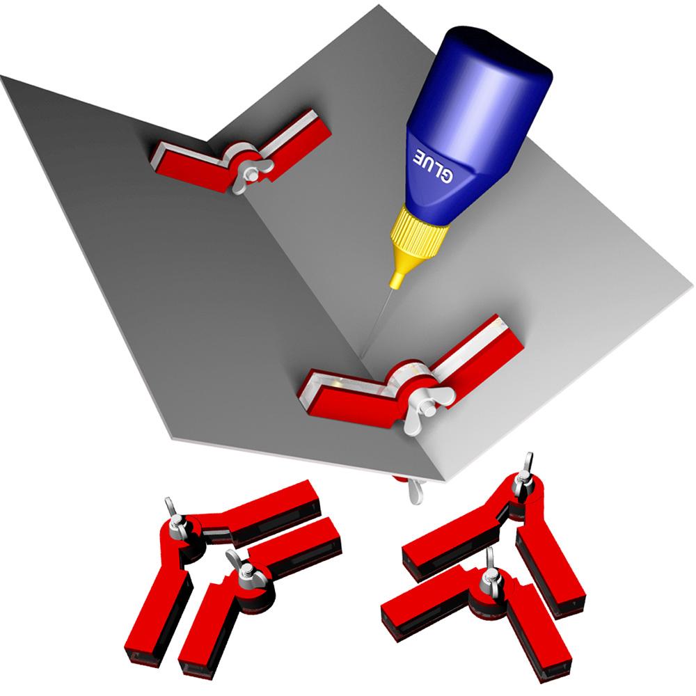 Bachmann 39011 HO Magnetic Adjustable Angle Hold-and-Glue Set 2 Adjustable-Angle Magnetic Clamps