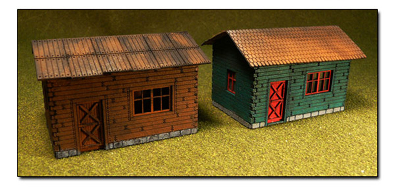 BAC39101 Bachmann Industries HO Laser-Cut Cottage Kit 160-39101