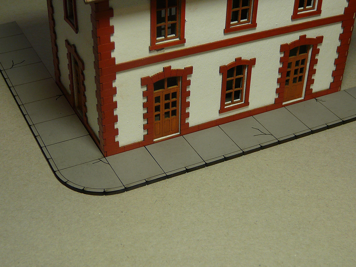 Concrete Sidewalk (HO Scale) - Click Image to Close