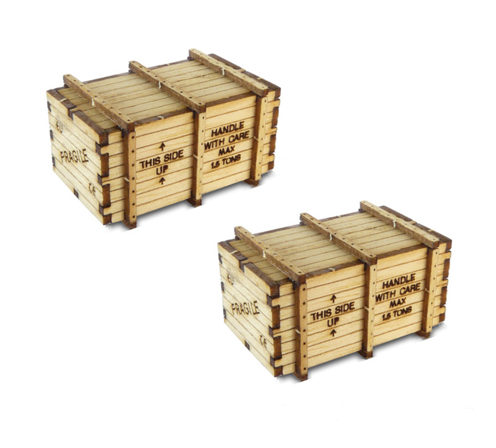 Bachmann 39110 HO Machinery Crates Kit Pkg 2