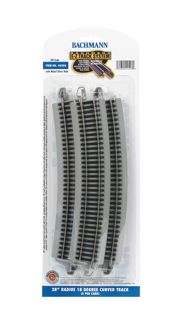 "28"" Radius 18 Degree Curved (HO Scale)"
