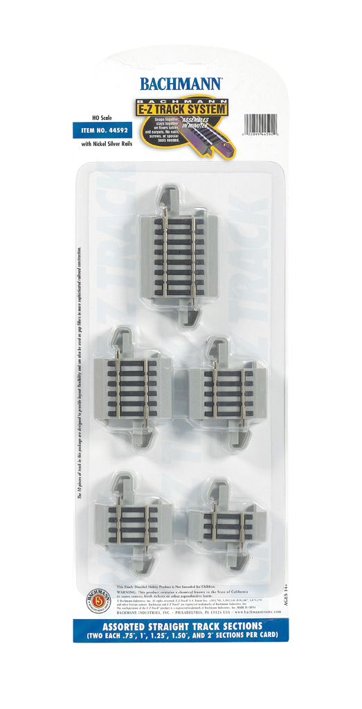 E-Z Track® Connector Assortment (HO Scale)