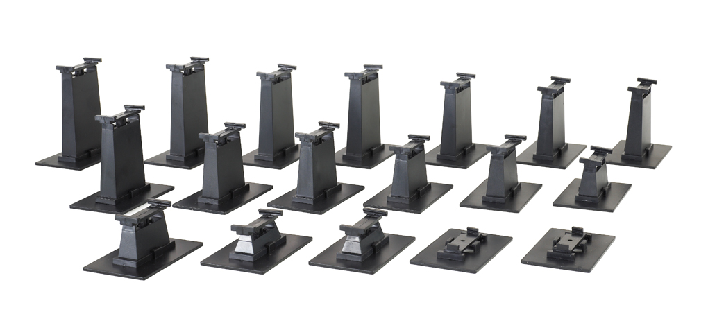 18-Piece Graduated Pier Set (HO Scale)