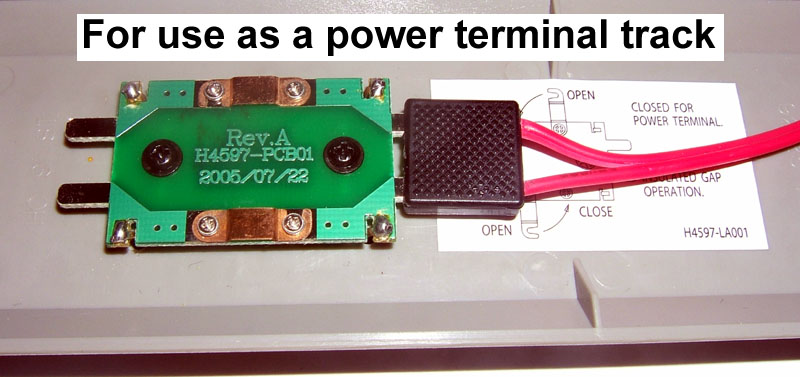 "9"" Power Terminal with Insulated Gap (HO Scale) - Click Image to Close"