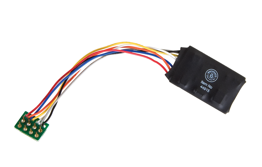 E-Z Command® 1 Amp Locomotive Decoder with NMRA 8-Pin Plug