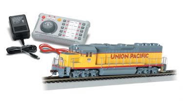 E-Z Command ® DCC System with DCC-Equipped Diesel Locomotive