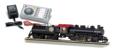 E-Z Command ® DCC System with DCC-Equipped Steam Locomotive