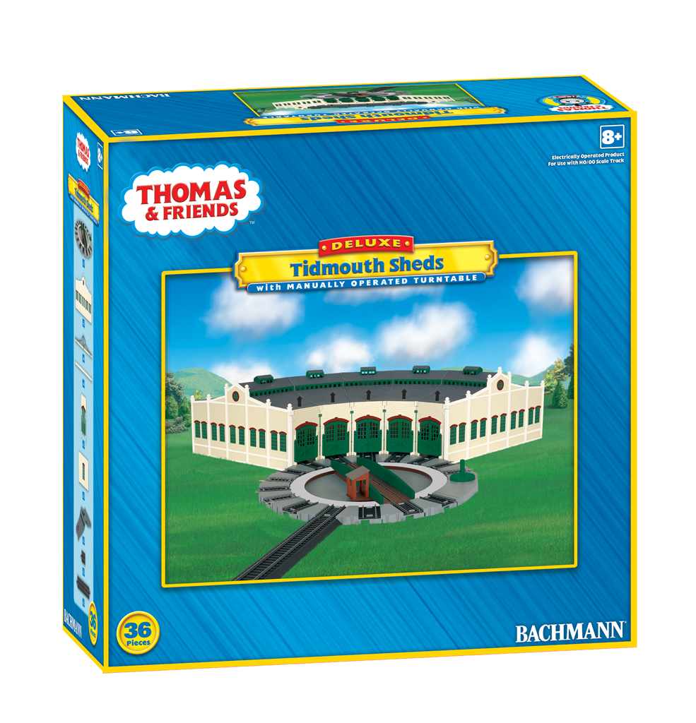 Tidmouth Sheds with Manually Operated Turntable (HO Scale) [45236 ...