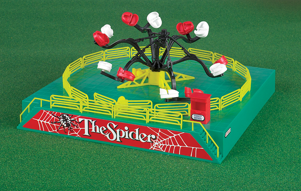 Operating Spider Carnival Ride Kit