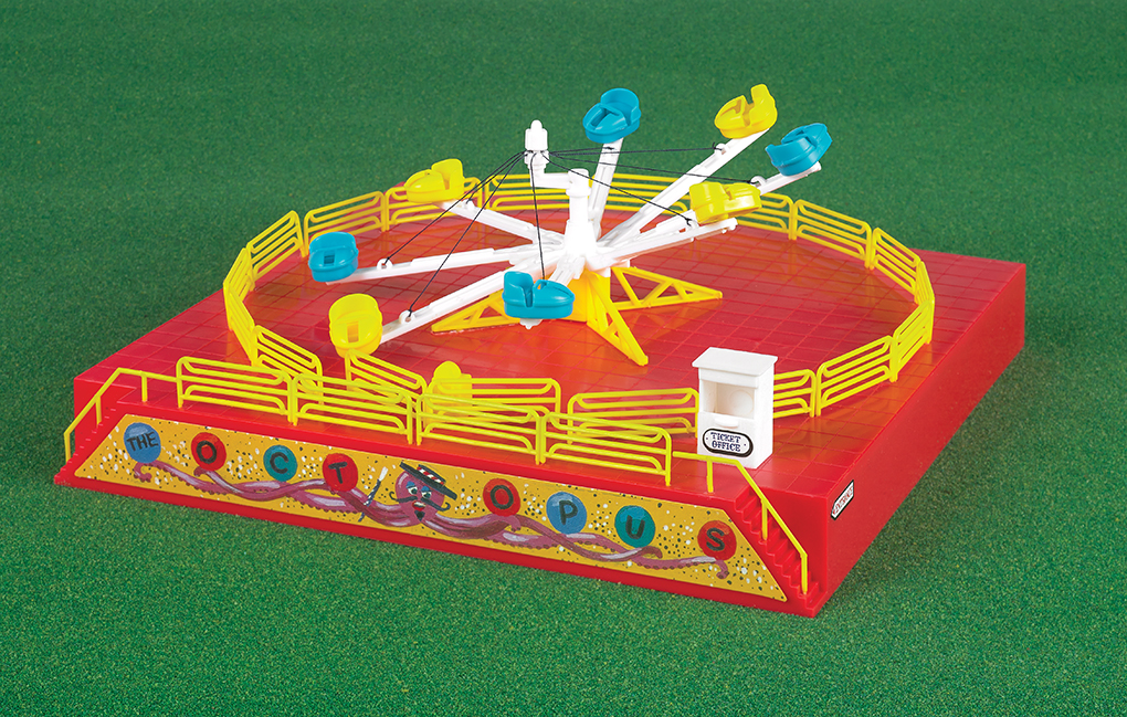 Operating Octopus Carnival Ride Kit - Click Image to Close