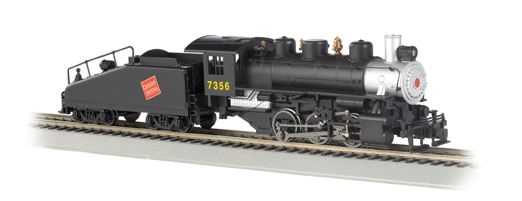 Canadian National #7356-USRA 0-6-0 W/Smoke & Slope Tender (HO)
