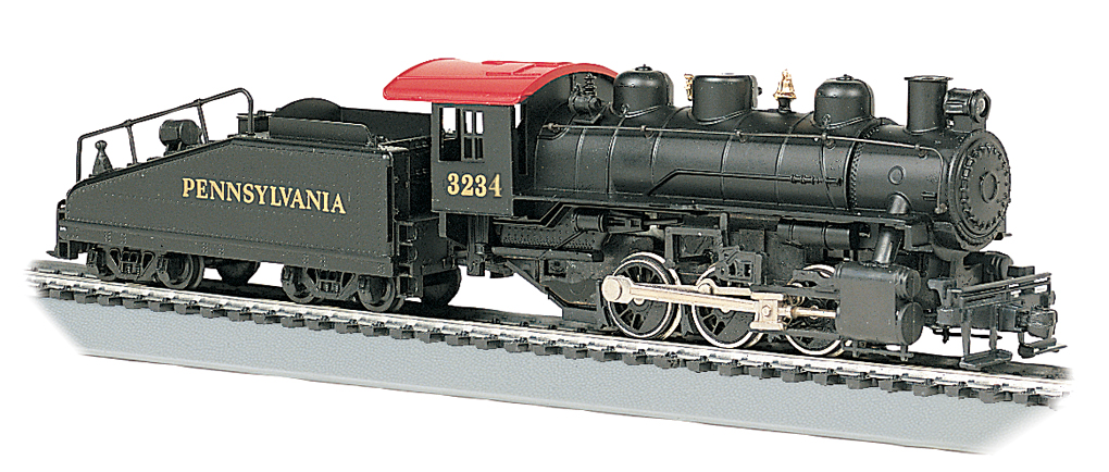 Pennsylvania #3234 - USRA 0-6-0 w/ Slope tender (HO Scale)