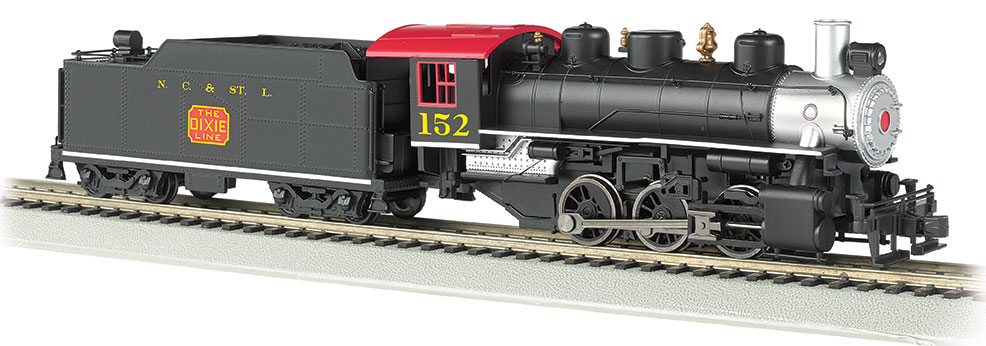 N.C. & St. L. #152 - USRA 0-6-0 w/ Short Haul Tender (HO Scale)