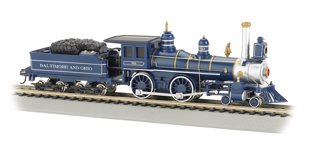 Baltimore & Ohio® (HO American 4-4-0)