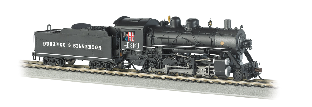 Bachmann ho scale 2-8-0 steam locomotive