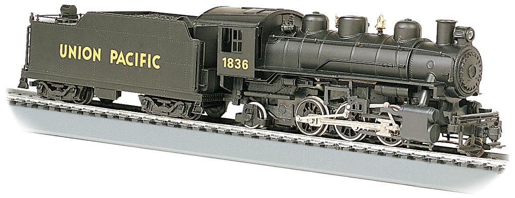 Grande Prairie Transit >> Union Pacific® #1836 - 2-6-2 Prairie (HO Scale) [51501] - $153.00 : Bachmann Trains Online Store