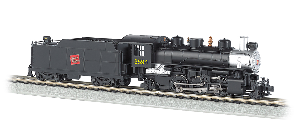 Canadian National #3594 - 2-6-2 Prairie (HO Scale)