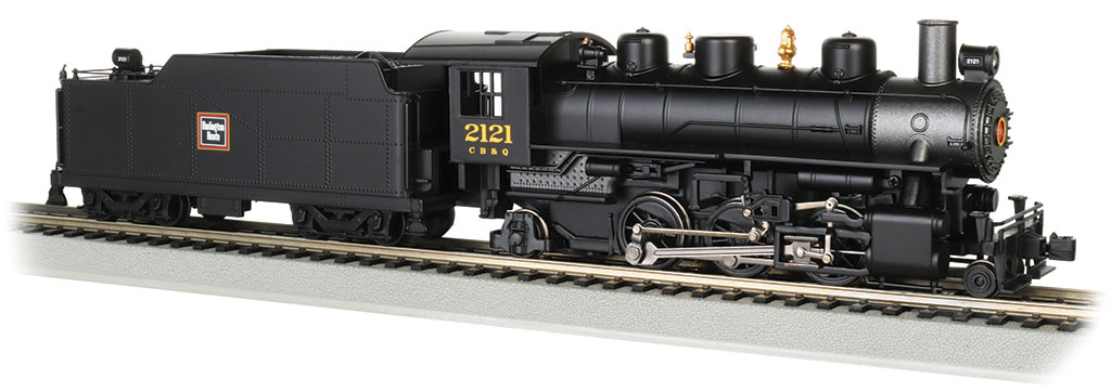 C B & Q Burlington #2121 - 2-6-2 Prairie (HO Scale)