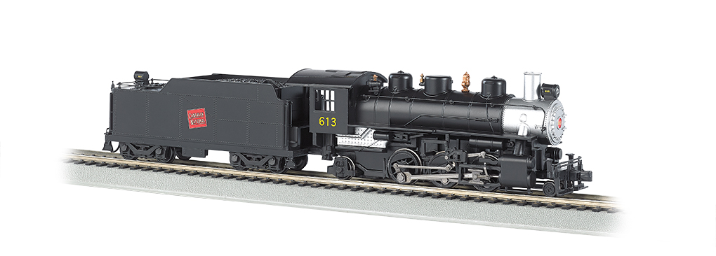 Canadian Pacific # 613 - 2-6-2 Prairie (HO Scale)