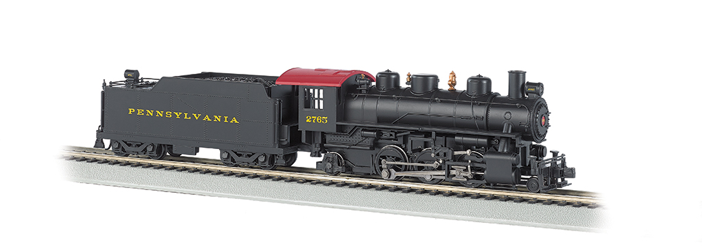 Pennsylvania #2765 - 2-6-2 Prairie (HO Scale) - Click Image to Close