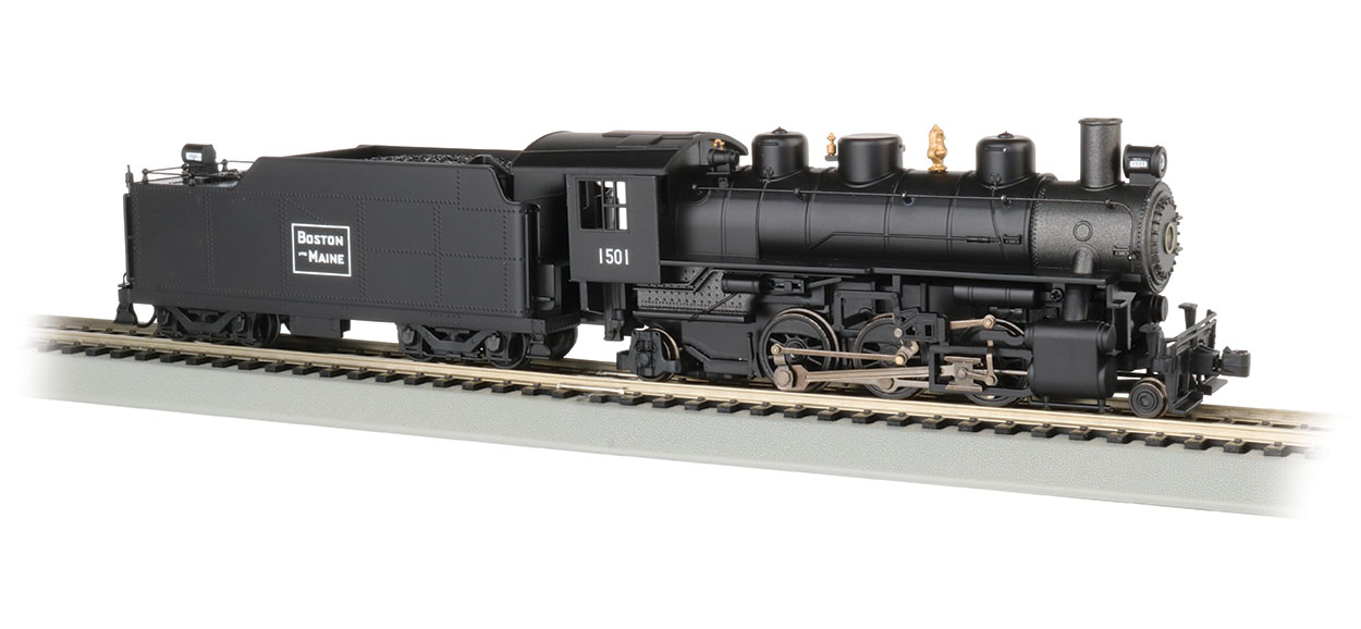 Boston & Maine #1501 - 2-6-2 Prairie (HO Scale)