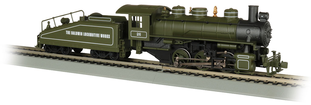 Baldwin Loco Works -USRA 0-6-0 W/Smoke & Slope Tender-DCC(HO)