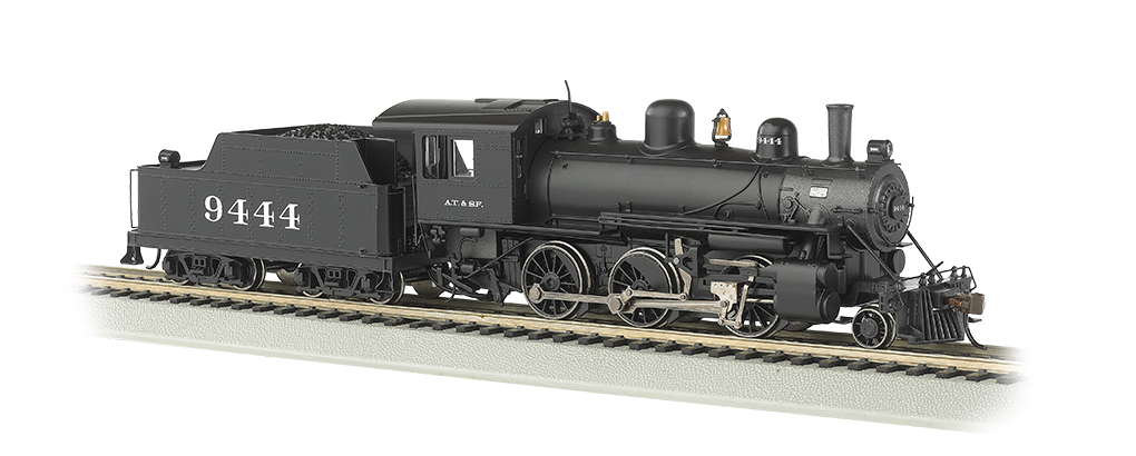 ATSF #9444 (HO ALCO 2-6-0) - Click Image to Close