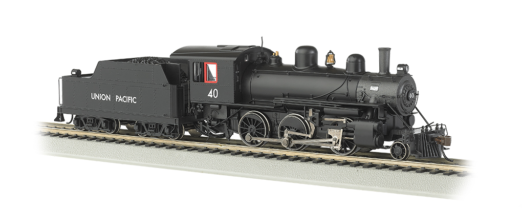 Union Pacific® #40 (HO ALCO 2-6-0)