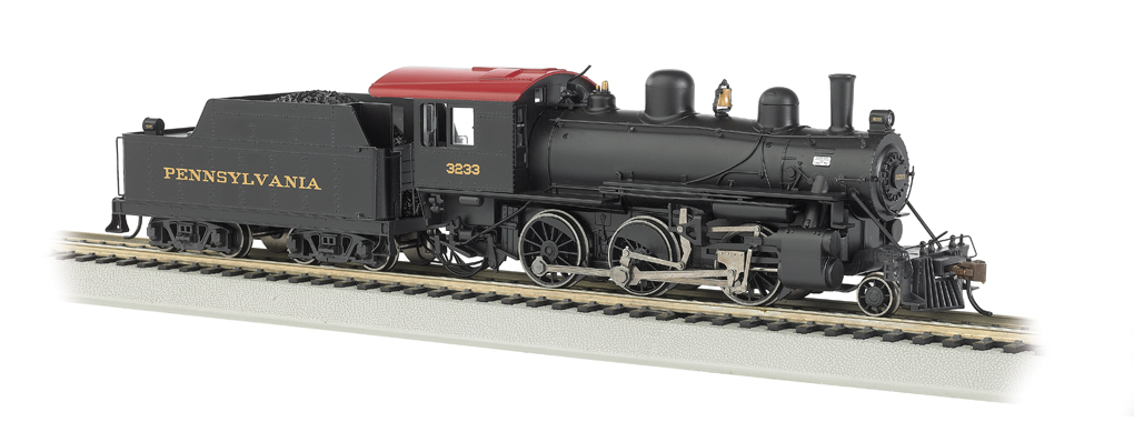 PRR #3233 - DCC Sound Value (HO ALCO 2-6-0)