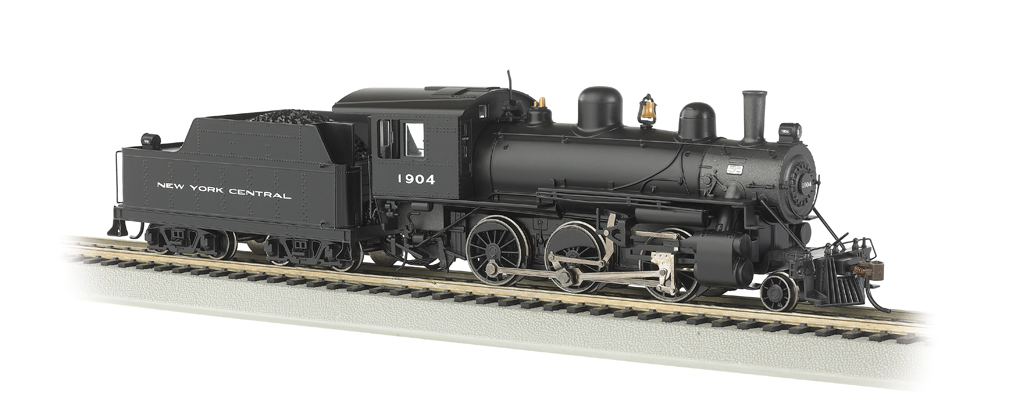 New York Central® #1904 - DCC Sound Value (HO ALCO 2-6-0)
