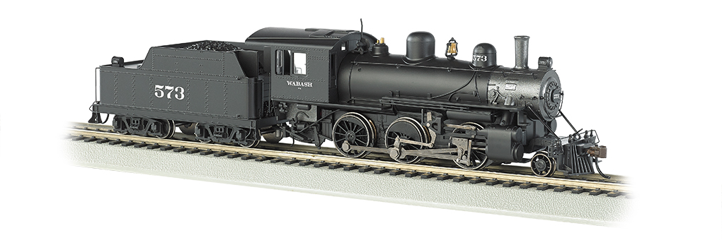 Wabash #573 - DCC Sound Value (HO ALCO 2-6-0)