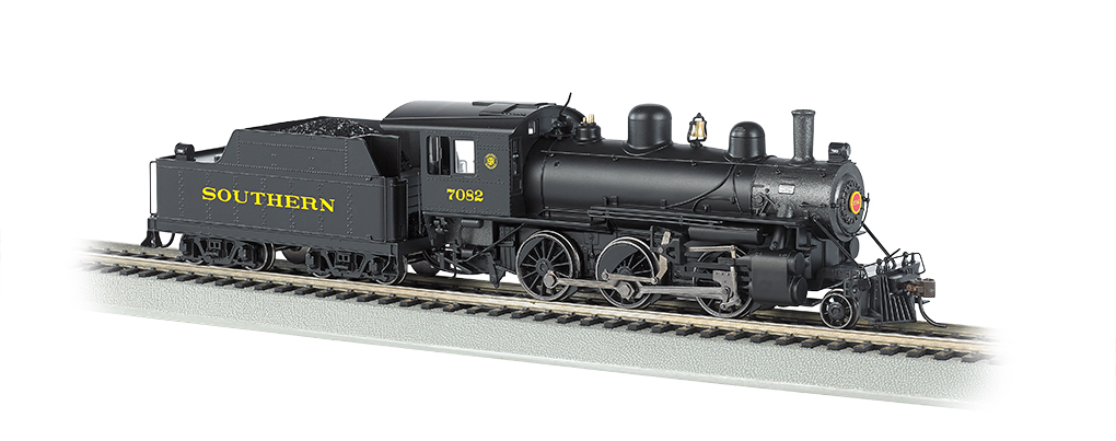 Southern #7082 - DCC Sound Value (HO ALCO 2-6-0)