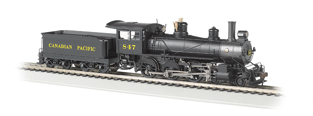 Canadian Pacific #847 - Baldwin 4-6-0 (HO Scale)