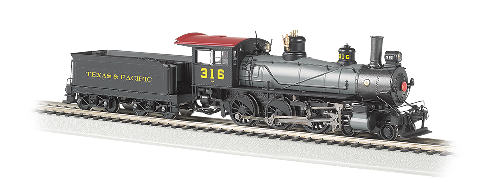 Texas & Pacific #316 - Baldwin 4-6-0 (HO Scale)