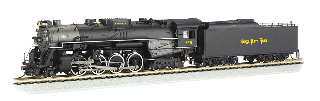 Nickel Plate#759 - DCC Sound Value (HO 2-8-4 Berkshire)