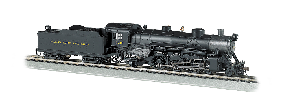 B&O® #5213 - 4-6-2 Light Pacific - DCC Sound Value