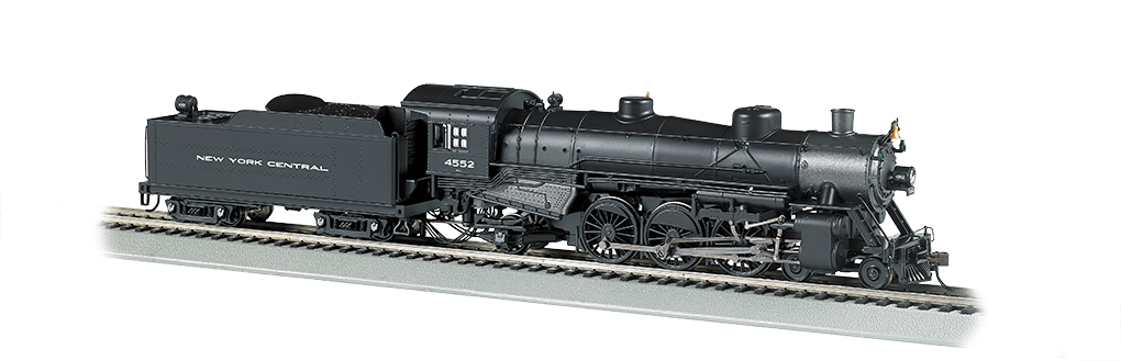 NYC® #4552 - 4-6-2 Light Pacific - DCC Sound Value