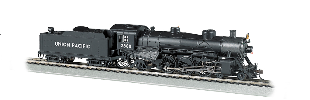 BAC52805 Bachmann Industries HO 4-6-2 Pacific UP #2880 160-52805