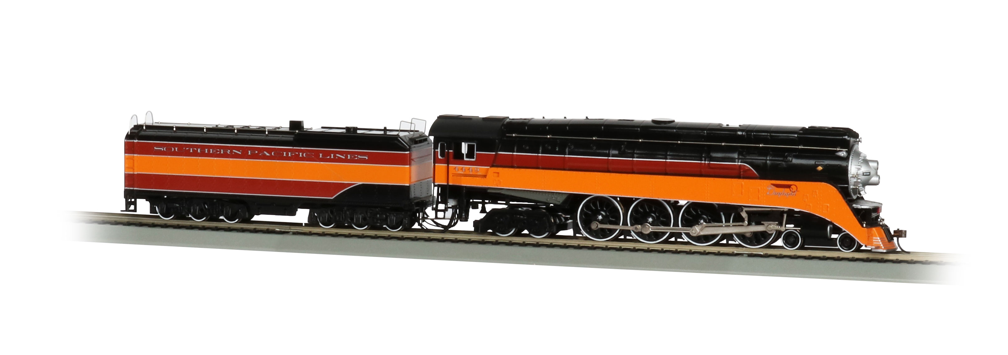 Bachmann Industries GS4 4-8-4 Locomotive /& Tender with Operating Headlight