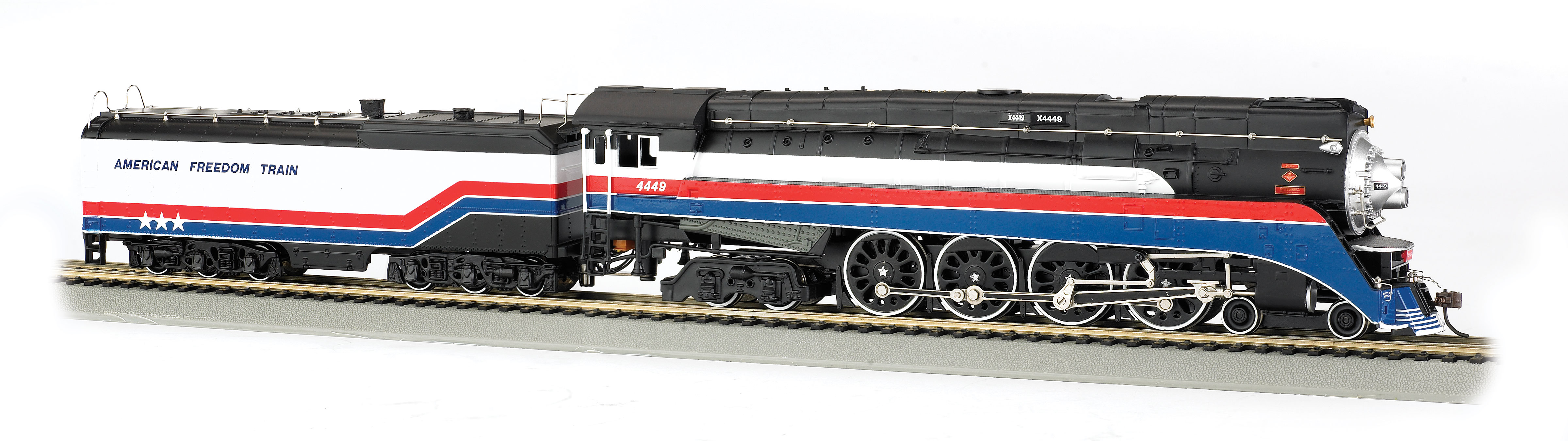 American Freedom Train #4449 - GS4 4-8-4 - DCC SOUND VALUE